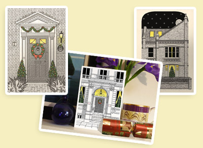 The pen and ink company bespoke cards and stationery christmas cards bespoke stationery reheart Images
